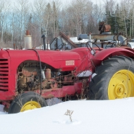 Massey Harris Tractor Wallpaper