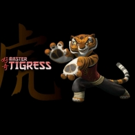 Master Tigress Wallpaper