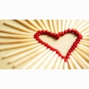 Matchsticks Heart Wallpaper