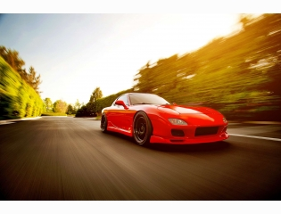 Mazda Rx 7 Fd Red
