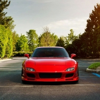 Mazda Rx7 Garden Hd Wallpapers