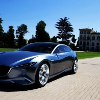 Mazda Shinari Concept Speed Wallpaper
