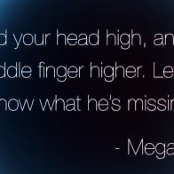 Megan Fox Quote Cover