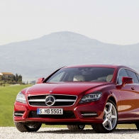 Mercedes Benz Cls Shooting Brake 2012 Hd Wallpapers