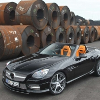 Mercedes Benz Slk 2011 Hd Wallpapers