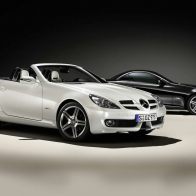Mercedes Benz Slk 2look Edition Hd Wallpapers
