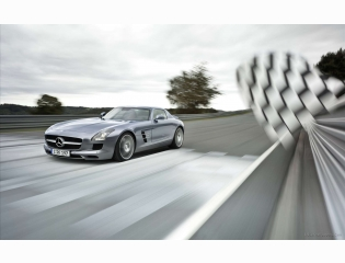 Mercedes Benz Sls Amg Gullwing In Granturismo Hd Wallpapers