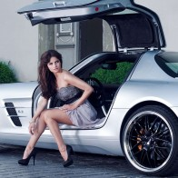 Mercedes Sls Amg Babe Hd Wallpapers