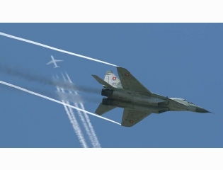 Mig 29 Fulcrum Svk6526 Just In Time Wallpaper