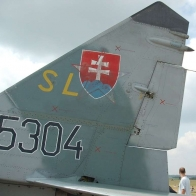 Mig 29 Svk Russian Star Holding Still Wallpaper