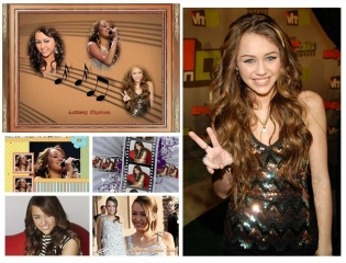 Miley Cyrus Background Wallpaper