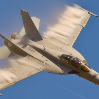 Military Jet Fighter F18superhornet Wallpaper