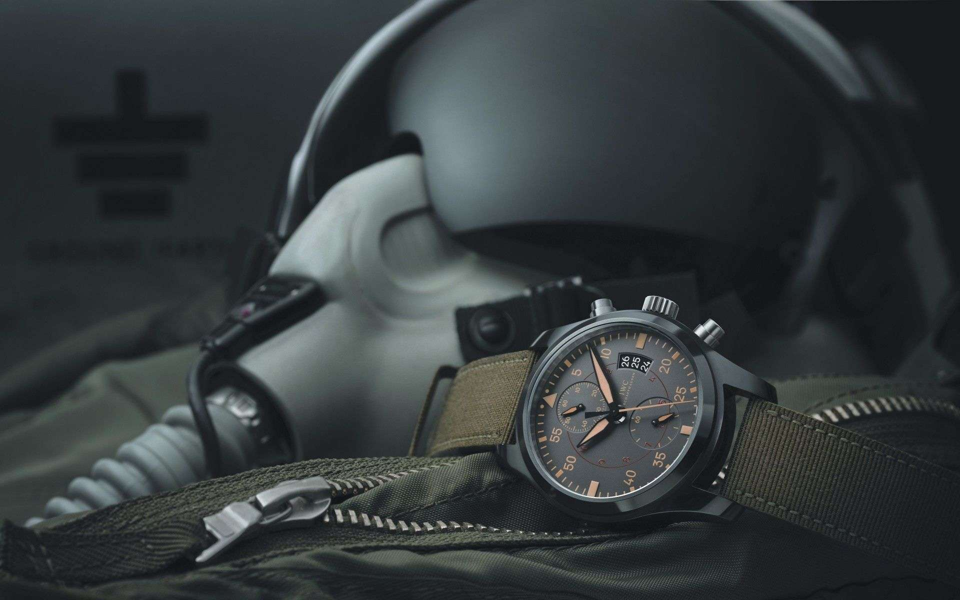 Military Pilot Chrono Watches Wallpapers