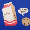 Download milk and cookies cover, milk and cookies cover  Wallpaper download for Desktop, PC, Laptop. milk and cookies cover HD Wallpapers, High Definition Quality Wallpapers of milk and cookies cover.
