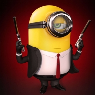 Minion Hitman Wallpaper