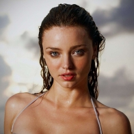 Miranda Kerr Wet Hair Wallpapers