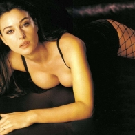 Monica Bellucci Madame Matrix Wallpaper