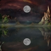 moon hd wallpapers 9,nature landscape Wallpapers, nature landscape Wallpaper for Desktop, PC, Laptop. nature landscape Wallpapers HD Wallpapers, High Definition Quality Wallpapers of nature landscape Wallpapers.