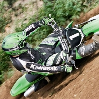 Motocross Wide Shot Wallpaper