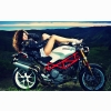 Motorcycle Hot Model Wallpaper