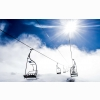 Mountain Ropeway Ski Resort Wallpapers