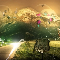 Mountains Route 66 Wallpapers