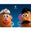 Mr And Mrs Potato Head Wallpaper
