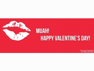 Muah Happy Valentines Day Cover