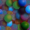 Download multi colored patterned spheres, multi colored patterned spheres  Wallpaper download for Desktop, PC, Laptop. multi colored patterned spheres HD Wallpapers, High Definition Quality Wallpapers of multi colored patterned spheres.