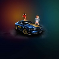 Mustang Amp Girls Wallpapers