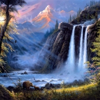 Nature Waterfall Hd Wallpapers 25