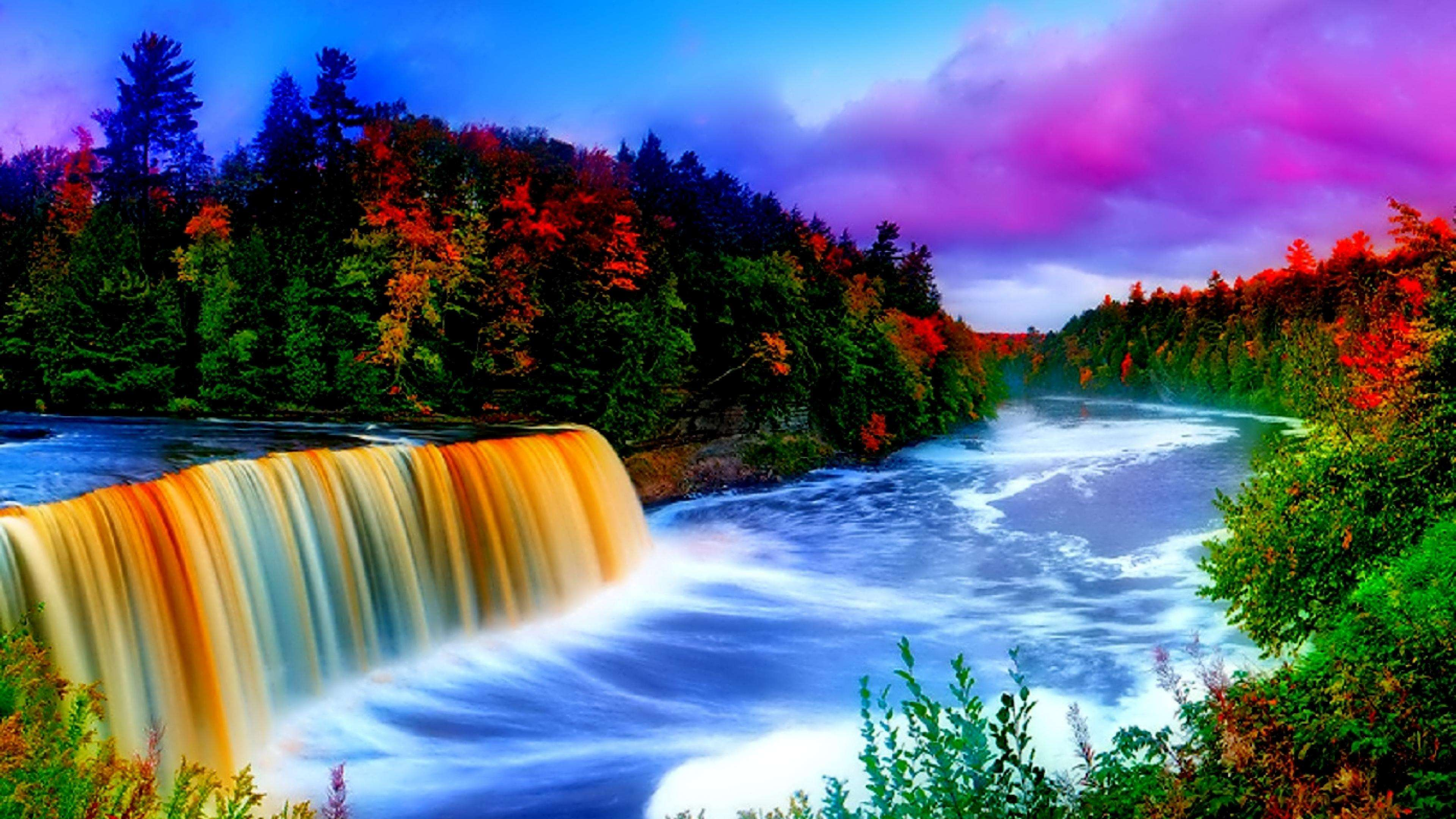 Nature waterfall hd wallpapers 6 hd wallpapers - Love nature wallpaper hd ...
