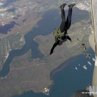 Navy Paratroopers Wallpaper