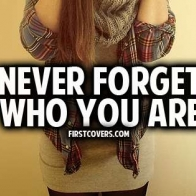 Never Forget Who You Are Cover