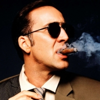 Nicolas Cage Smoke