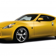 Nissan Fairlady Z Yellow Hd Wallpapers