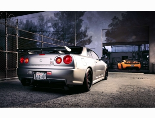 Nissan R34 Skyline Gt R Hd Wallpapers