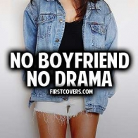 No Boyfriend No Drama Cover