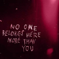 No One Belongs Here More Than You Cover