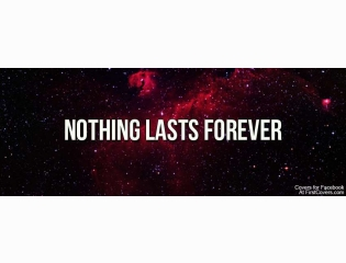 Nothing Lasts Forever Cover
