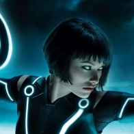 Olivia In Tron Legacy Wallpaper Wallpapers