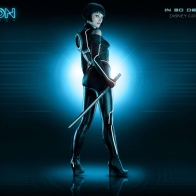 Olivia Wilde As Quorra Tron Legacy Wallpapers