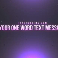 One Word Text Messages Cover