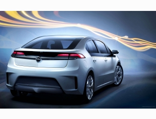 Opel Ampera Rear Hd Wallpapers