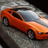 Orange Car Wallpaper