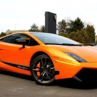 Orange Sports Car Wallpaper 18