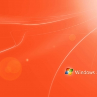 Orange Windows 7 Wallpapers