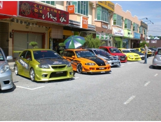Outoshow Cars Proton Wallpaper