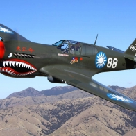 P 40 Kittyhawk Wallpaper