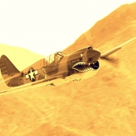 P 40 Warhawk Wallpaper
